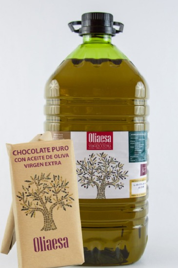 Extra Virgin Olive Oil (4 x 5L) + 3 Chocoliva